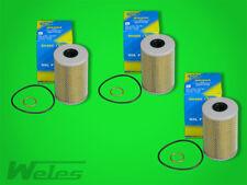 3 x SH404 Ölfilter MERCEDES UNIMOG U 1000 1200 1300 1400 800 MB-TRAC 1000