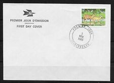 L4499 Burkina Faso FDC 120F 1986 WILD ANIMALS