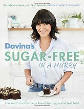 Davina Mccall Sugar Free Hurry Recipe Cook Book Healthy Eating Diet Lose Weight