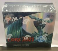 2021 MTG ENGLISH Magic the Gathering Core Set Collector Booster Box SEALED NEW