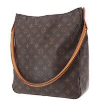LOUIS VUITTON Looping GM Shoulder Bag Monogram Canvas M51145 Authentic #RR932 O