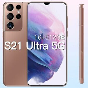 Global Version Galxy S21Ultra 5G 16GB 512GB 6.7Inch Android11 Smartphone 6800mAh
