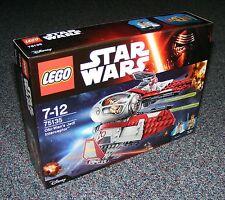 Star Wars Lego 75135 Obi-Wan 's Jedi Interceptor Nuevo Sellado