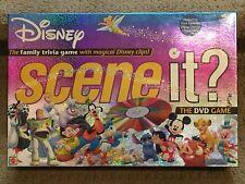 DISNEY Scene It? DVD Board Game 2004-Mint Condition-Complete