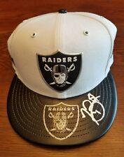 TIM BROWN Signed Football New Era Hat JSA Certified Oakland Raiders Auto HOF