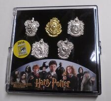 SDCC 2016 HARRY POTTER HOGWORTHS CREST PIN SET EXCLUSIVE COMIC CON LIMITED Ed