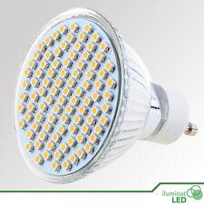Bombilla LED GU10 93 SMD 3528 Blanco Cálido AC 220V - Únicamente 7W - LED Bulb