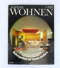SCHÖNER WOHNEN April 1968 - Mid Century Design und Architektur
