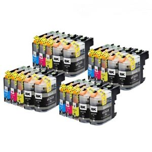 20 x non oem Ink Cartridges for Brother LC223 DCP-J4120DW MFC-J4420DW DCP-J562DW