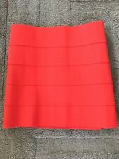Pleasure Doing Business Red Skirt Size Small