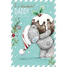ME TO YOU TO A WONDERFUL DADDY AT CHRISTMAS CARD TATTY TEDDY BEAR NEW GIFT