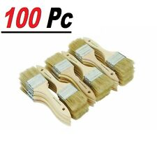 """100 Of 1"""" Chip Brush Brushes Perfect for Adhesives Paint Touchups 1 Inch"""