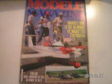 **e Modèle Magazine n°396 Spécial RC de Baby Train / Le Mosquito Modelhob