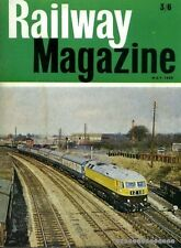 Cooke, B W C (editor) RAILWAY MAGAZINE VOLUME 114, NO 805 : MAY 1968 1968 Paperb