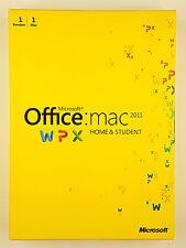 Microsoft Office Mac 2011 Home and Student DVD Vollversion Deutsch GZA-00139