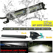 "1Pc Single Row 20"" LED Work Light Bar 270W Driving Offroad Flood Spot Combo Beam"