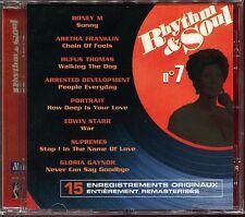 RHYTHM & SOUL - N°7 - MOTOWN - CD COMPILATION NEUF SOUS CELLO