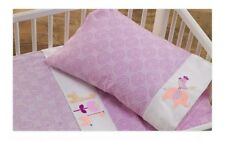 LOLLIE LIVING 3 PCE COT SHEET SET IN SURINA. GIFT BOXED. 100% COTTON. BRAND NEW.