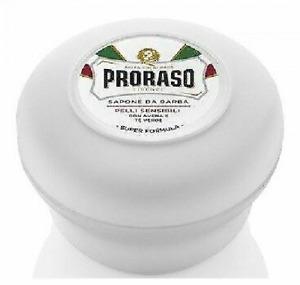Proraso Shaving Soap for Thick & Coarse Beard, Sensitive, 5.2 oz