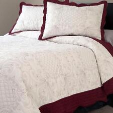 2 Piece Quilt Juliette Set Twin Size Bedding Cover & Pillow Sham Lavish Home