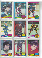 Lot of 20 Different 1980-81 OPC O-Pee-Chee Cards **U-Pick** Complete Your Set
