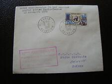 FRANCE - enveloppe 15/11/1970 50eme anniv ser postal paris-geneve (cy12) french