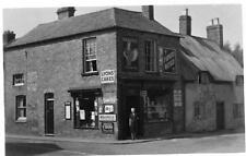 Billesdon corner Church Street & Market Place Shop E A Norton General Stores RP
