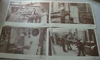 PERADON NEW REPRODUCTION SEPIA SNOOKER POOL BILLIARDS CUE MAKING PRINTS