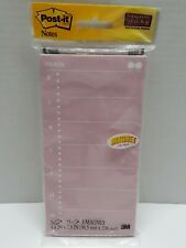 Post-it Notes 3M magnetic 3.8 In By 7.1 In New sealed in package. Weekly notes.