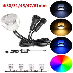 RGB/WW Bodeneinbauleuchte Einbaustrahler LED Bodenleuchte Außen Beleuchtung Spot