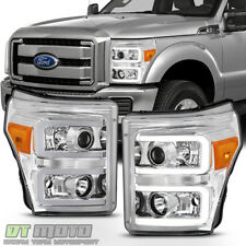 2011-2016 Ford F250 F350 F450 SuperDuty LED Tube Projector Headlights Headlamps