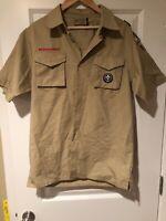 BSA Boy Scout Uniform Mens Shirt Adult Small