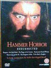 Hammer Horror Resurrected Boxset - 6 Films - Christopher Lee & Peter Cushing