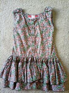 Matilda Jane girls Serendipity ruffle dress size 6
