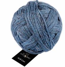 ALB Lino 100g  Schoppel  Lambswool v. der Schwäbischen Alb 4201M Blau Mélange