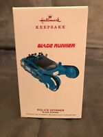 2019 HALLMARK POLICE SPINNER BLADE RUNNER Keepsake Ornament