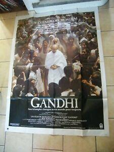 """ Poster Cinema Gandhi 120 Sur 63in """