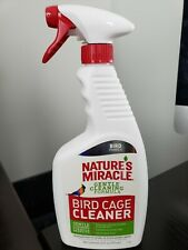 Nature's Miracle Bird Cage Cleaner, 24 fl oz, Cleans & Deodorizes, Removes Tough