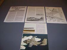 VINTAGE..GRUMMAN S-2A TRACKER HISTORY..HISTORY/DETAILS/CUTAWAY..RARE! (804K)