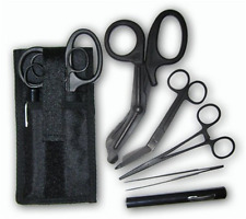 Rescue Essentials Shears EMT/Scissors Combo Pack with Holster, Tactical All