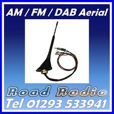 DAB DIGITAL & AM FM CAR RADIO STEREO FLEXIBLE ROOF AERIAL ARIEL ARIAL