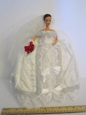 """INCREDIBLE One of a Kind OOAK  """"Winter Bride"""" Makeover Barbie by Sylphia Arts"""