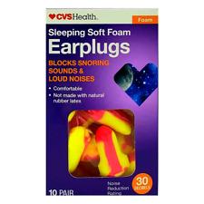 Cvs Ear Plugs 30db Sleep Noise Reduction Ear Hearing Protection Soft Earplugs