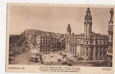Barcelona Palau de Comunicacions Passeig de Colom Spain Vintage Postcard 355a