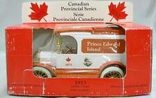 CANADIAN PROVINCIAL SEREIES 1/24 DIE CAST 1913 MODEL T FORD BANK