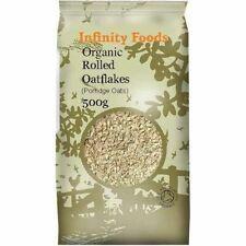 Infinity Organic Rolled Oatflakes (Porridge Oats) 500g