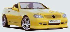 Rieger FRONT SPOILER approccio per Mercedes Benz SLK r170 fino a 2000 modello