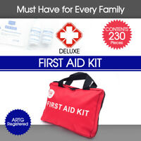 230 Pieces First Aid Kit-A Must Have for Every Family ARTG Registered AU