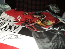 Chicago Blackhawks Marian Hossa Fleece Blanket.