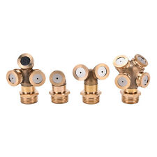 1X NEW Brass Agricultural Misting Spray Nozzle Sprinkler Irrigation System MC